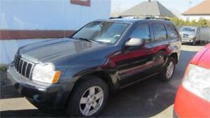 2007 Jeep Grand Cherokee Laredo V6 4X4 FINANCEMENT MAISON