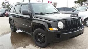 2007 Jeep Patriot 4x4, SUV, 4 Doors, AC, ONLY 119000km!