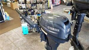 Yamaha Outboard 8hp Four Stroke - New