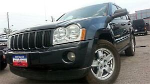 2007 Jeep Grand Cherokee Laredo 4WD, DIESEL, LEATHER *EVERYBODY