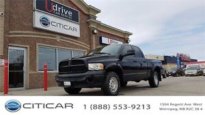 2005 Dodge Ram 1500 ST. QUAD CAB! VERY LOW KM! SUBS AND WOOFERS!
