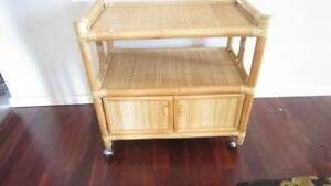 """""""As new"""" cane drink or food trolley, cabinet, reduced Woodlands Stirling Area Preview"""