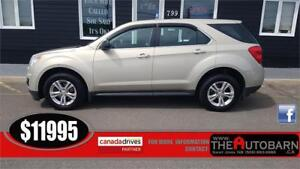2012 CHEVROLET EQUINOX LS AWD - 4cyl, auto, cruise, bluetooth