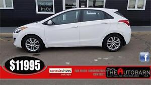 2013 HYUNDAI ELANTRA GT -6SP, CRUISE, BLUETOOTH, PANORAMIC ROOF