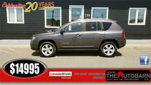 2015 JEEP COMPASS 4X4 NORTH - FULLY LOADED, BACKUP CAMERA,.