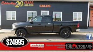 2014 DODGE RAM 1500 OUTDOORSMAN 4x4 - 5.7L HEMI, CRUISE.