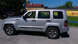 2008 Jeep Liberty Sport North Edition-4WD-Excellent Conditions-.