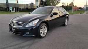 2011 INFINITI G25x Sedan Luxury | Navigation | AWD | 2 Owners