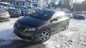 2009 Toyota Corolla XRS with only 124,027km mint conition