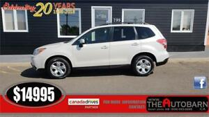 2015 SUBARU FORESTER 2.5i AWD - AUTOMATIC, HEATED SEATS.