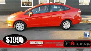2014 FORD FIESTA SE SEDAN - cruise, bluetooth, cd player