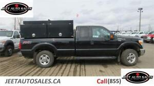 2015 Ford  F-250 XLT with Service utility Canopy & compressor