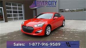2016 Hyundai Genesis Coupe 3.8L Premium Manual Now only $29988