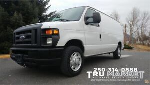 Ford E-Series Cargo Van *One Owner, Racks/Storage, Bulkhead*