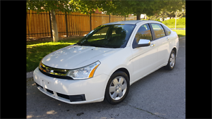 2009 FORD FOCUS SE | AUTOMATIC | 4 CYLINDER | WHITE