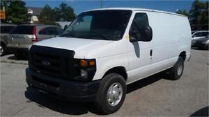 2009 Ford E-250 Cargo van, open cargo space, Runs Great, AC!