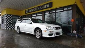 1999 Nissan Stagea 25T RS FOUR V 2500 TURBO AWD AT 122K