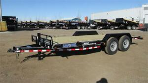 2018 CARHAULER/CONSTRUCTION 16 FT TANDEM AXLE (14,000LBS GVW)