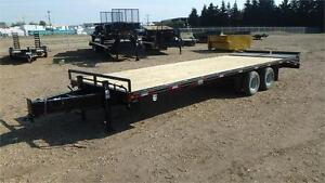 2016  28' Tandem axle Highboy trailer (22,000 GVW) Double A