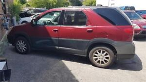 2005 Buick Rendezvous CX 184kms  AWD  416 271 9996  2900.00