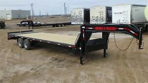 2016 !SALE! Double A 30FT Tandem Gooseneck Trailer (20000LB GVW