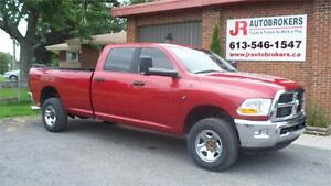 2010 Dodge Ram 3500 SLT Crew Cab 6 Speed Manual 8' Box - RARE!