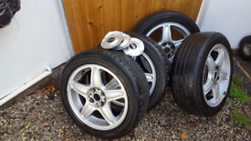 "Mini Cooper 17"" Alloys"