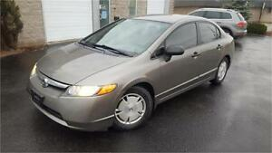 2008 HONDA CIVIC LX-G SEDAN ALLOY'S ALL POWER OPTIONS CERTIFIED