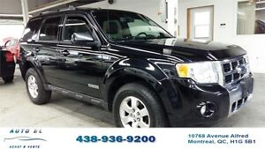 2008 FORD ESCAPE LIMITED|4WD|CUIR|TOIT|IMPECCABLE