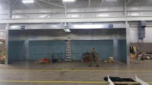 3 Rohner Paint Booths FOR SALE(REDUCED BY 50%)