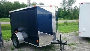 2018 NEW 5X8 V-NOSE ENCLOSED CARGO TRAILERS