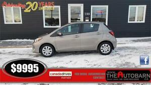 2015 TOYOTA YARIS LE HATCH - AUTOMATIC, CRUISE, CD PLAYER