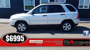 2009 SPORTAGE LX 4WD - FULLY LOADED, CRUISE, ALLOY WHEELS.