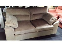 New clearance beige fabric pull out sofa bed