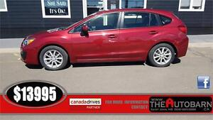 2013 SUBARU IMPREZA HATCH - CRUSE, BLUETOOTH, HEATED SEATS