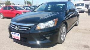 2012 Honda Accord 89K!!! V6 Auto EX-L, LEATHER, ROOF