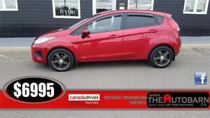 2012 FORD FIESTA SE HATCHBACK - MOONROOF, TINT, BUGGER & VENTS
