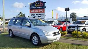 PEOPLE MOVER ... 2006 Kia Grand Carnival Wagon... 1 YEAR WARRANTY Westcourt Cairns City Preview