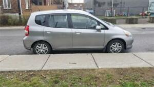 Honda Fit 2007 LX Manuelle Liquidation 1499$