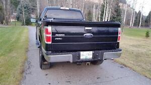 2009 F-150 XLT 4X4 BLACK BEAUTY MUST SEE Prince George British Columbia image 3