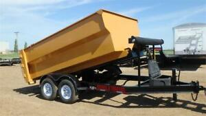 2019  14FT Roll Off Dump Trailer (14,000LB GVW) Double A