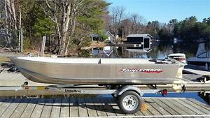 New 2015 Princecraft 12' Seasprite utility w 9.9 EH 4S