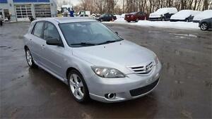 2005 Mazda3 GT SPORT------CUIR- TOIT-MAGS
