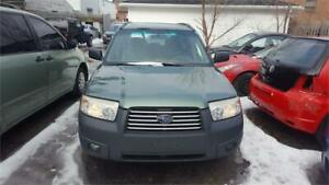 2007 SUBARU FORESTER MANUAL 5 SPEED AWL SELLING AS IS