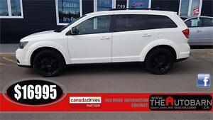 2014 DODGE JOURNEY SXT BLACKTOP - 6cyl auto - tint, cruise.