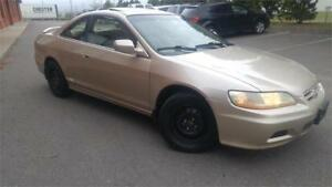 Honda Accord Coupe EX Leather Loaded Fresh Tradein Winterbeater!