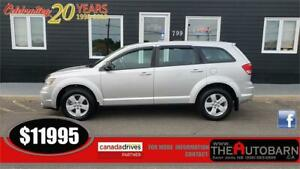 2013 DODGE JOURNEY SE+ - CRUISE, BLUETOOTH, ONLY 53500KM