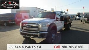 2013 Ford Super Duty F-550 DRW XLT Flat Deck with 12 Ft Bed