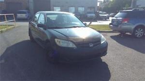 2004 Honda Civic, TT EQUIPEE, PROPRE, ECONOMIQUE, PAS CHER