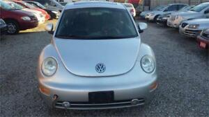 2000 BEETLE CUTE CAR! AFFORDABLE PRICE!   CERTIFIED AND WARRANTY